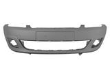 Передний бампер грунтованный сер для Форд Фиеста / Ford Fiesta - 5 Поколение