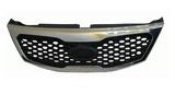 Решётка радиатора с хром рамкой для Киа Соренто / Kia Sorento - 2 Поколение