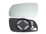 Стекло левого зеркала механическое  для Фольксваген Гольф 4 / Volkswagen Golf 4
