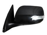 Зеркало левое электрическое с подогревом с поворотником подсветка 7 контактов для Тойота Ленд Крузер Прадо 150 / Toyota Land Cruiser Prado 150