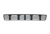 Решетка переднего бампера центральная черная для Ауди А4 Б5 / Audi A4 B5