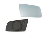 Стекло правого зеркала с подогревом синее для Бмв Е60 / Bmw E60