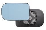 Стекло левого зеркала большое с подогревом  для Бмв Е39 / Bmw E39