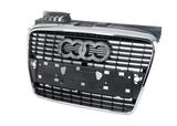 Решетка радиатора хром-серая для Ауди А4 Б7 / Audi A4 B7