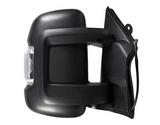 Зеркало правое электрическое с подогревом с поворотником короткий кронштейн  для Пежо Боксер / Peugeot Boxer