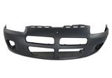 Бампер передний с отверстиями под птф черный  для Додж Стратус Седан / Dodge Stratus Седан