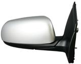 Зеркало правое электрическое с подогревом грунтованное  для Киа Пиканто / Kia Picanto - 2 Поколение