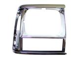 Решетка радиатора правая хром-черная для Джип Чероки / Jeep Cherokee - 1 Поколение Xj