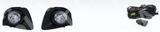 КОМПЛЕКТ ПРОТИВОТУМАННЫХ ФАР (с проводкой и кнопкой,решетками бампера)