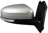 Зеркало правое электрическое с подогревом , с поворотником с датчиком температуры грунтованное  для Форд Фокус / Ford Focus - 3 Поколение