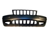 Передний бампер грунтованный  для Джип Гранд Чероки / Jeep Grand Cherokee - 2 Поколение Wj Wg