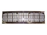 Решетка радиатора центральная хром-черная для Джип Чероки / Jeep Cherokee - 1 Поколение Xj