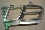 Решетка переднего бампера левая с отв под противотуманки серебрист для Мазда 6 / Mazda 6 - 2 Поколение