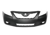 Бампер передний грунтованный / черный для Тойота Камри В40 / Toyota Camry V40
