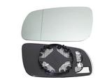 Стекло левого зеркала с подогревом  для Фольксваген Гольф 4 / Volkswagen Golf 4