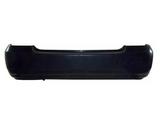 Задний бампер черный  для Тойота Королла Де120 / Зе120 Седан / Универсал / Toyota Corolla De120 / Ze120седан / Универсал