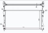 РАДИАТОР ОХЛАЖДЕНИЯ ДВИГАТЕЛЯ 2,3 16V+/-AC /2,4D/2,4TDCI +AC