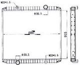 РАДИАТОР ОХЛАЖДЕНИЯ (915 x 688 mm)