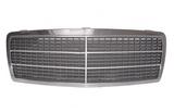 Решетка радиатора хром-черная для Мерседес W202 / Mercedes W202
