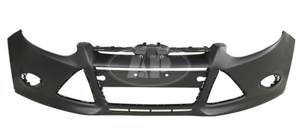 Передний бампер грунтованный для Форд Фокус / Ford Focus - 3 Поколение