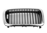 Решетка радиатора правая хром-черная для Бмв Е38 / Bmw E38