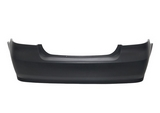 Задний бампер черный  для Шевроле Авео Т250 / Chevrolet Aveo T250