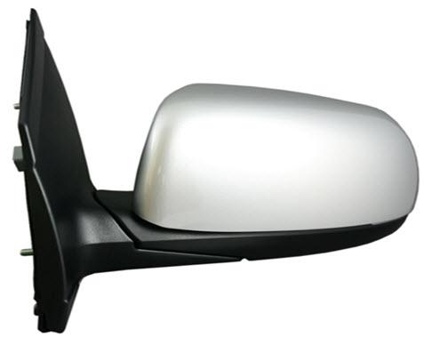 Зеркало левое электрическое с подогревом грунтованное  для Киа Пиканто / Kia Picanto - 2 Поколение