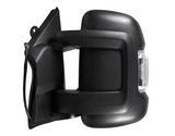 Зеркало левое электрическое с подогревом с поворотником с датчиком температуры короткий кронштейн  для Пежо Боксер / Peugeot Boxer