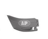 Бампер передний правая часть без отверстий под птф для Форд Транзит / Ford Transit Mark 6