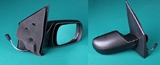Зеркало правое электрическое с подогревом грунтованное  для Форд Фьюжен / Ford Fusion
