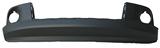 Спойлер переднего бампера черный с местом под молдинг для Джип Гранд Чероки / Jeep Grand Cherokee - 3 Поколение Wk