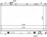 РАДИАТОР ОХЛАЖДЕНИЯ ДВИГАТЕЛЯ 1,6 16V/2,0 16V +/-AC MКПП/AКПП