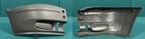 Боковина переднего бампера правая с заглушками птф пластик серый для Форд Транзит / Ford Transit Mark 6