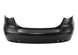 Бампер задний черный хэтчбэк для Шевроле Лачетти / Chevrolet Lacetti/ Daewoo Nubira