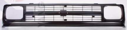 Решетка радиатора хром-черная для Шевроле Блейзер / Chevrolet Blazer
