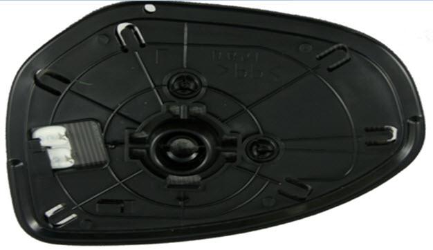 Стекло правого зеркала с подогревом  для Мазда 6 / Mazda 6 - 2 Поколение