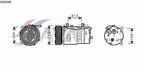 КОМПРЕССОР КОНДИЦИОНЕРА 2.8