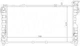 РАДИАТОР ОХЛАЖДЕНИЯ ДВИГАТЕЛЯ 2,7 V624V/3,2 V624V/3,5 V624V AirC MКПП/AКПП