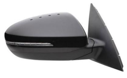 Зеркало правое электрическое , автоскладыватель с подогревом с указателем поворота для Киа Оптима / Kia Optima