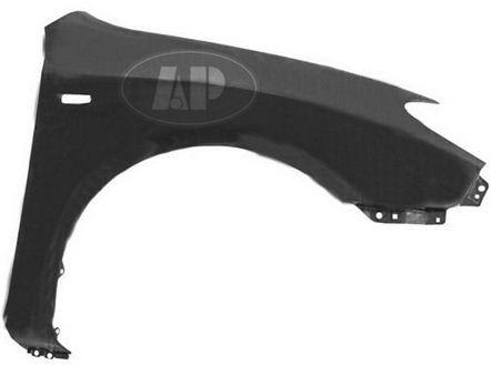 Крыло переднее правое с отверстием под повторитель для Хендай Элантра / Hyundai Elantra - 4 Поколение