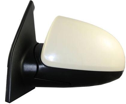 Зеркало левое электрическое с подогревом грунтованное для Киа Пиканто / Kia Picanto - 1 Поколение
