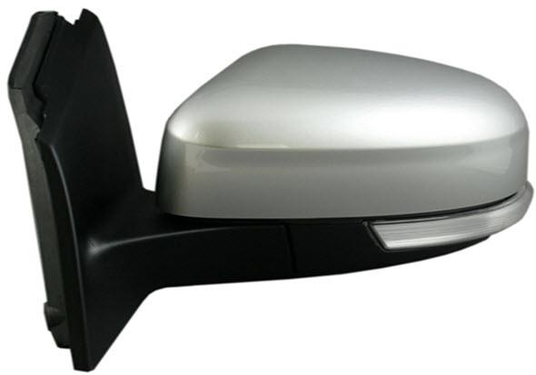 Зеркало левое электрическое с подогревом , с поворотником грунтованное  для Форд Фокус / Ford Focus - 3 Поколение