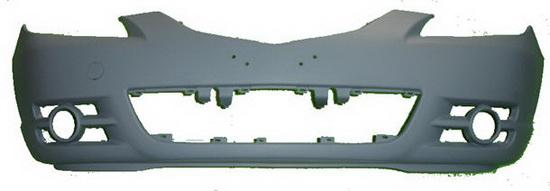 Передний бампер грунтованный   для Мазда 3 / Mazda 3 - 1 Поколение