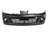Передний бампер черный для Ниссан Тиида / Nissan Tiida