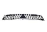 Решетка радиатора черная с хром молдингом для Митсубиси Лансер / Mitsubishi Lancer 10