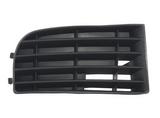 Решетка переднего бампера правая без отверстий под противотуманки для Фольксваген Гольф 5 / Volkswagen Golf 5