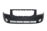 Бампер передний матово-черный для Додж Калибер / Dodge Caliber