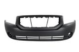 Бампер передний грунтованный с отверстиями под птф для Додж Калибер / Dodge Caliber