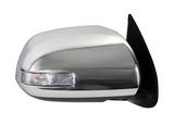 Зеркало правое электрическое с указателем поворота , хром для Тойота Хайлюкс / Toyota Hilux