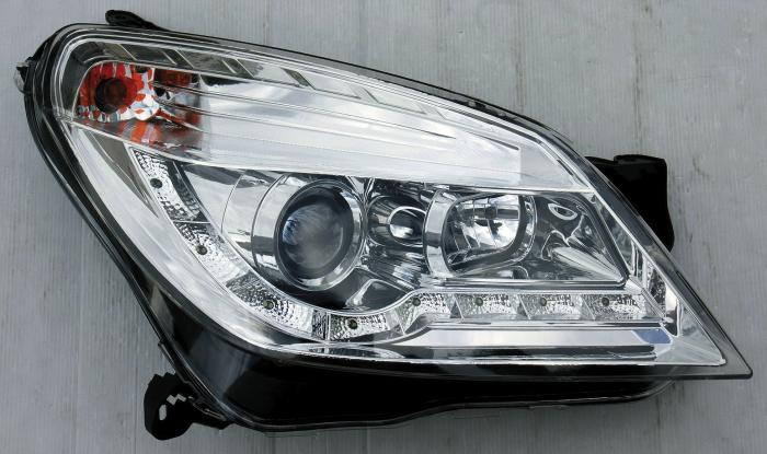 Astra h headlight 16.875 on a tape measure